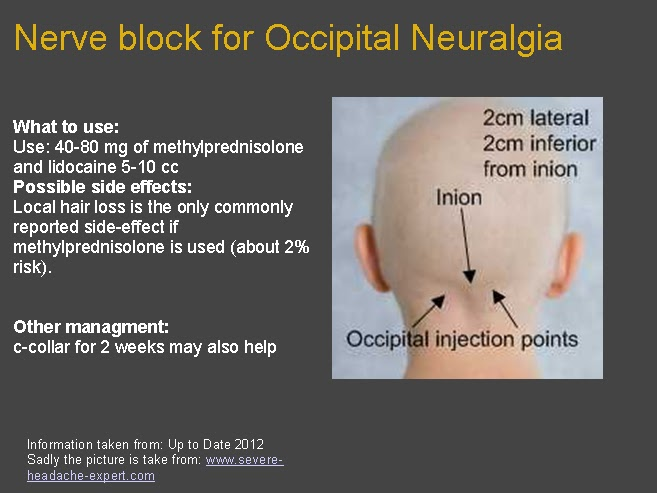 Occipital Neuralgia Dailyem